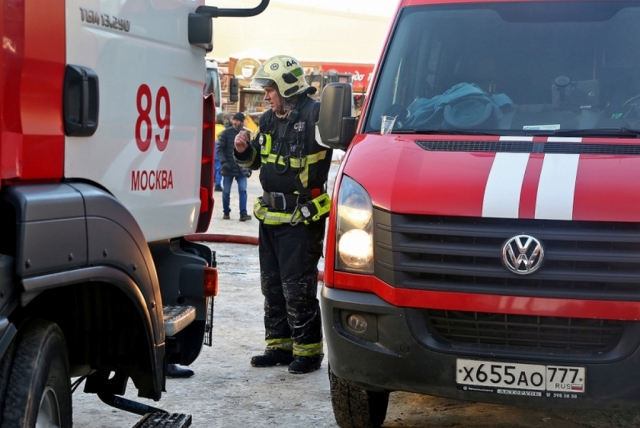 Пожар вспыхнул в здании Московской консерватории имени П. И. Чайковского