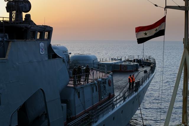 Группировка ВМФ России в Средиземноморье