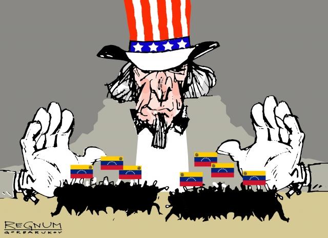 Грузовики с гумпомощью сожгли на границе Колумбии и Венесуэлы — СМИ