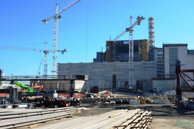 Строительство на ЧАЭС