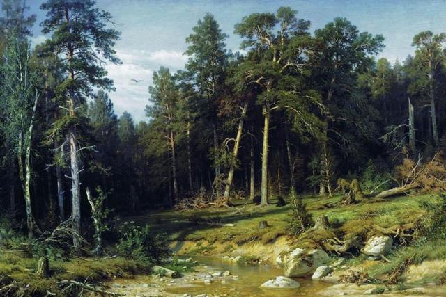 Иван Шишкин. Сосновый бор. 1872
