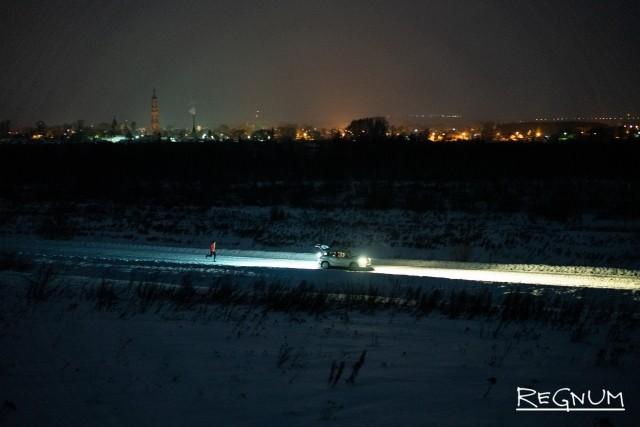 Антон Головин на 20-м километре