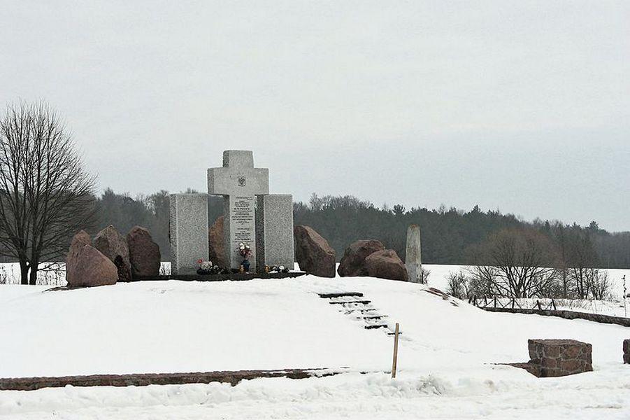 Мемориал уничтоженным жителям Гуты Пеняцкой