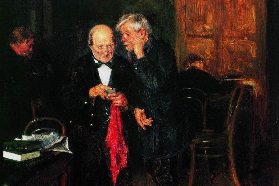 Константин Маковский. Секрет. 1884