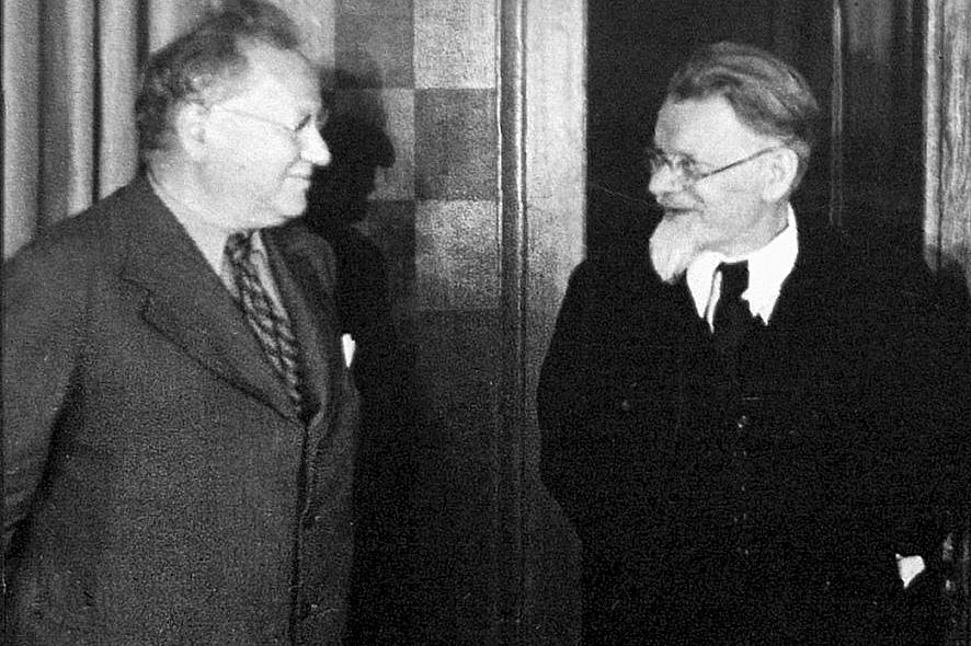 М. М. Литвинов и М. И. Калинин