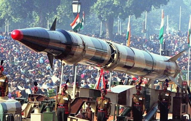 Индийская баллистическая ракета «Агни»