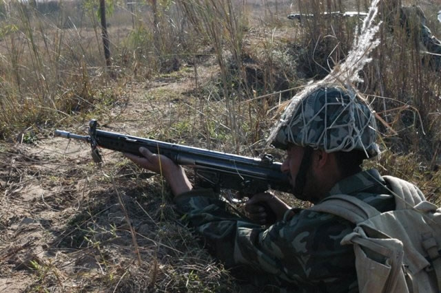 Солдат армии Пакистана