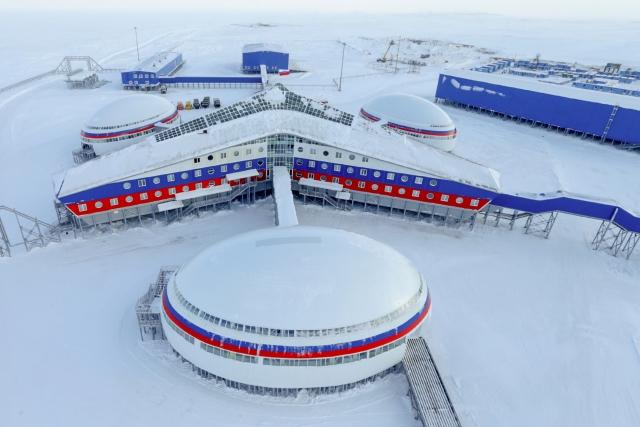 База ПВО «Арктический трилистник» на Земле Франца-Иосифа
