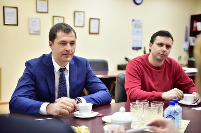 Артем Цымбалов (справа) и Владимир Волков
