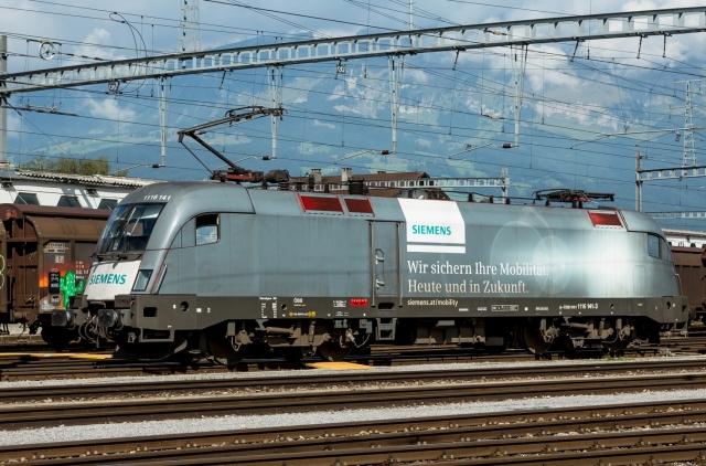 Электровоз Siemens