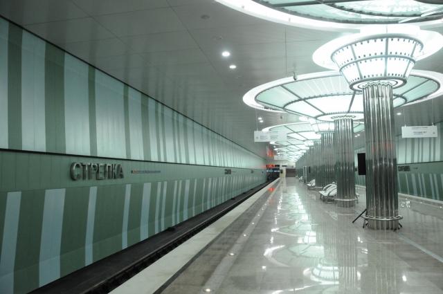 Станция метро «Стрелка»