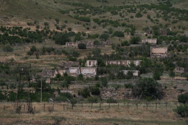 Граница непризнанной Нагорно-Карабахской республики с Ираном