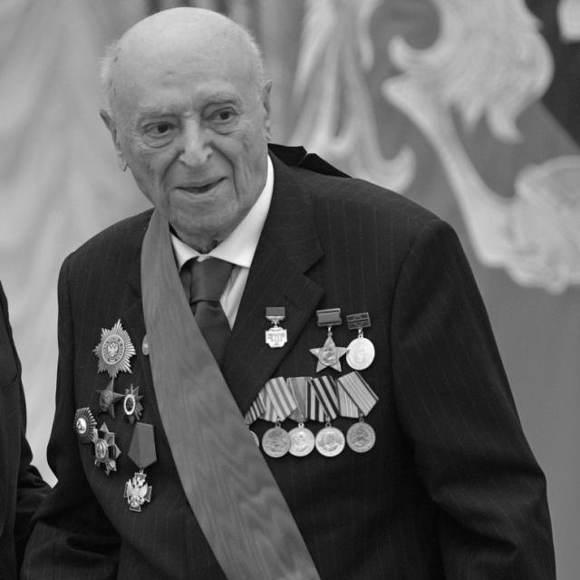 Народный артист СССР Владимир Этуш умер в возрасте 96 лет