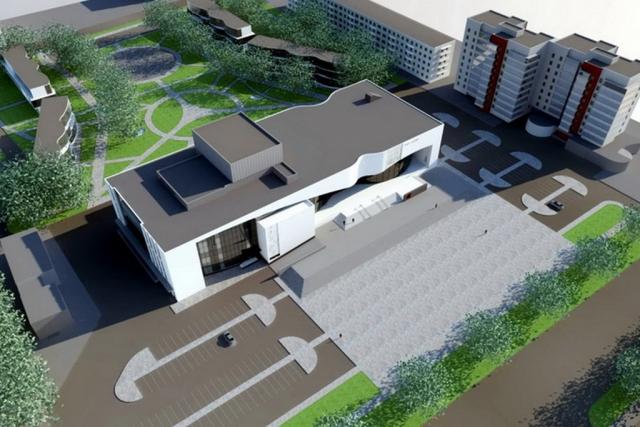 Проект здания театра в Каменске-Уральском