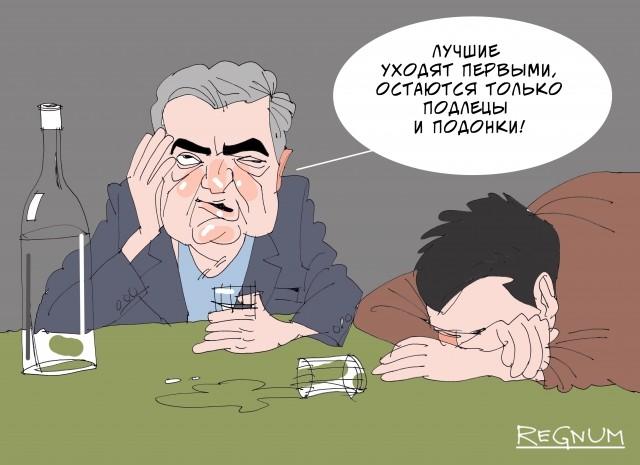 Украинская предвыборная жесть: сеанс «петролюбия» в Черкассах