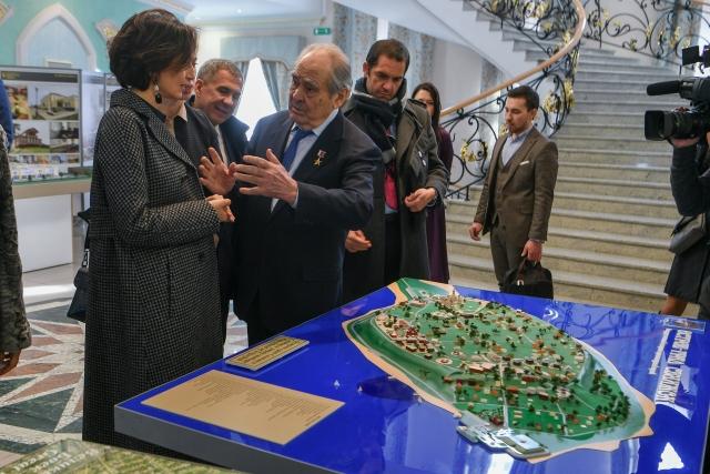 Приезд генерального директора ЮНЕСКО Одри Азуле в Казань