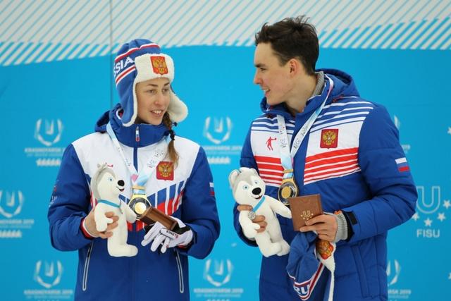 Христина Мацокина и Александр Терентьев