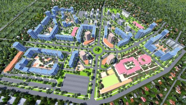 Проект нового микрорайона Симферополя