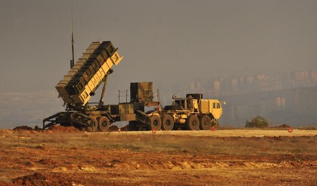 Американский ЗРК Пэтриот на военной базе в Турции