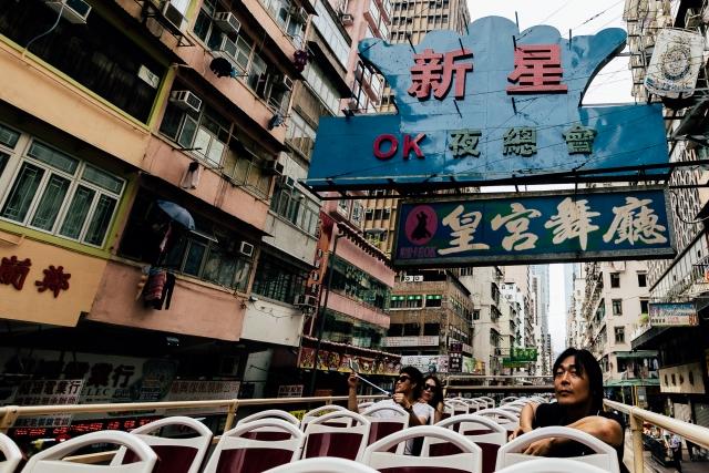 Высокоурбанизированный район Mongkok