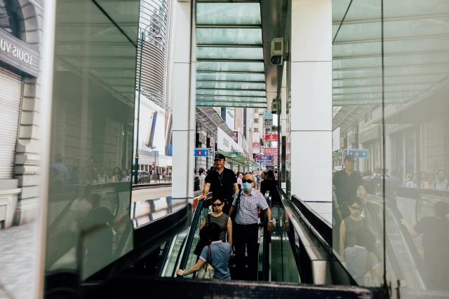 Спуск в подземный переход