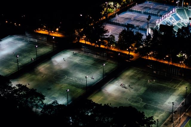Спортивные площадки Leighton Hill