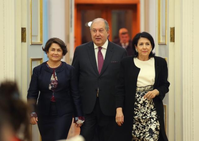 Армен Саркисян и Саломе Зурабишвили
