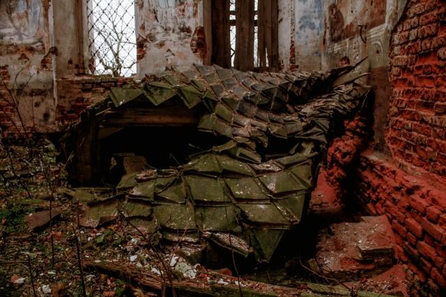 Вид церкви изнутри