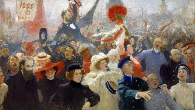 Илья Репин. 17 октября 1905 года. 1907-1911
