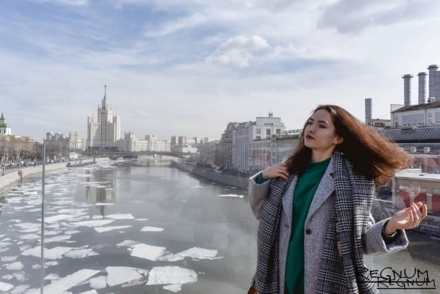 В выходные в Москве потеплеет до + 6 °С
