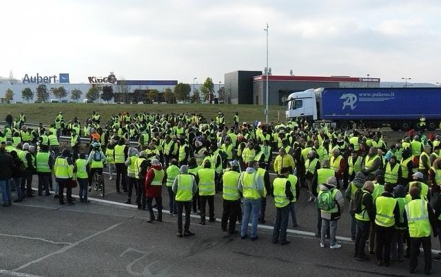 Во Франции «желтые жилеты» планируют 18-ю по счету мобилизацию