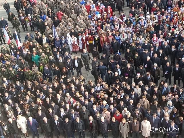 Пять лет как день: в Симферополе празднуют день рождения Крымской весны