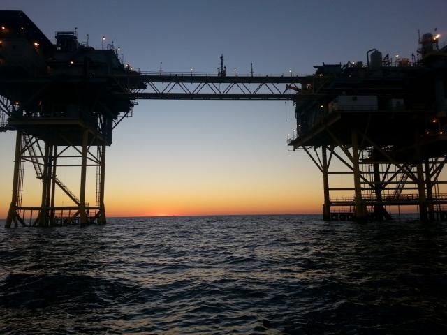 Установка по добыче природного газа