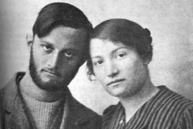 Авшалом Файнберг и Сара Ааронсон, одни из основателей НИЛИ