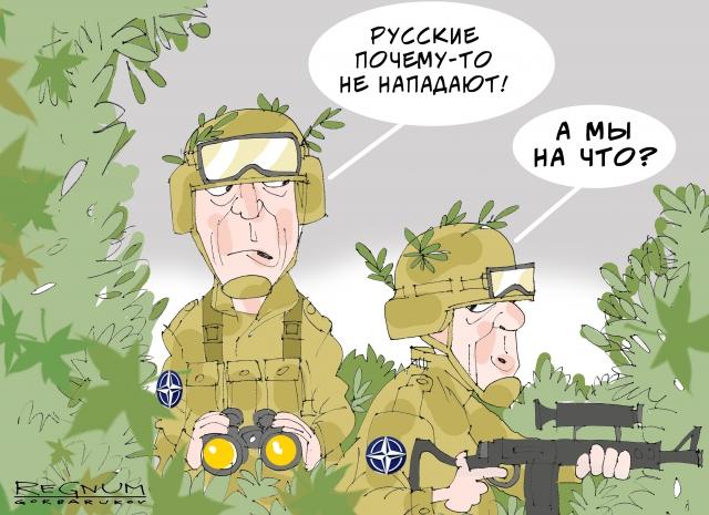 Реваншизм плюс психологические комплексы: о военных приготовлениях НАТО