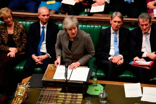 Тереза Мэй в Парламенте