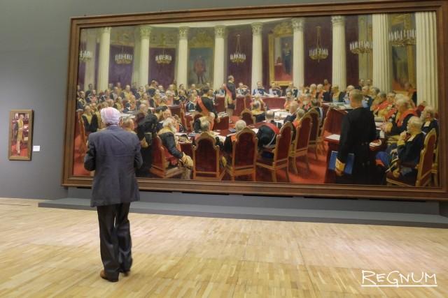 Илья Репин. Торжественное заседание Государственного совета 7 мая 1901 года в честь столетнего юбилея со дня учреждения. 1903