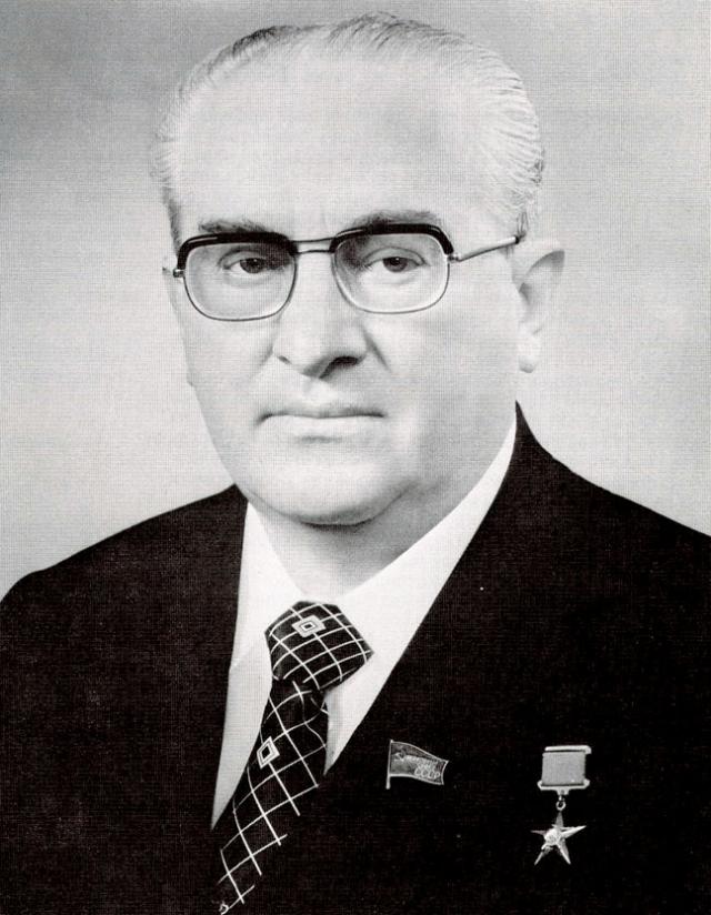 Юрий Андропов. 1983