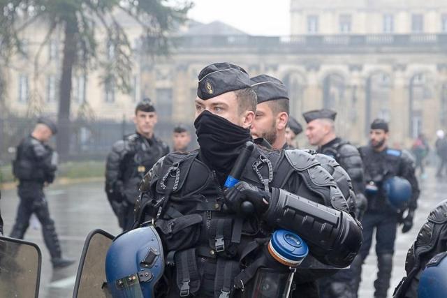 Полиция в полной готовновсти