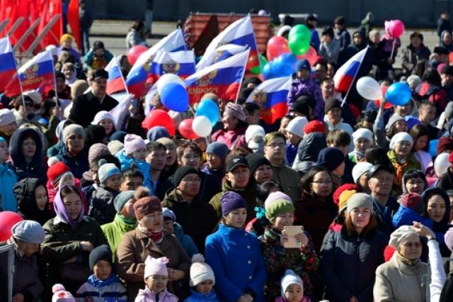 Пятилетнюю годовщину Крымской весны отпраздновали в Туве