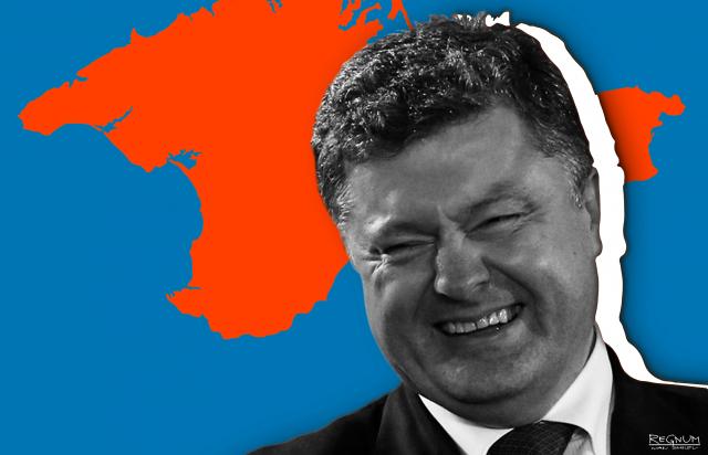 Порошенко пообещал «вернуть» Крым «политико-дипломатическим путем»