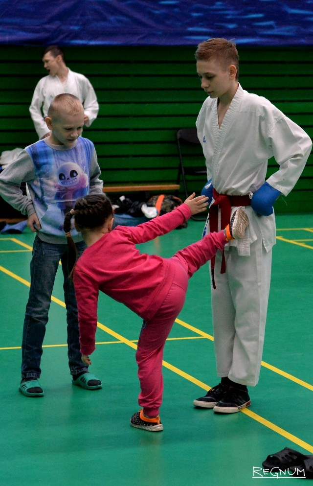 Соревнования проводились в разных возрастных
