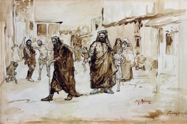 Илья Репин. Пророк. Около 1890