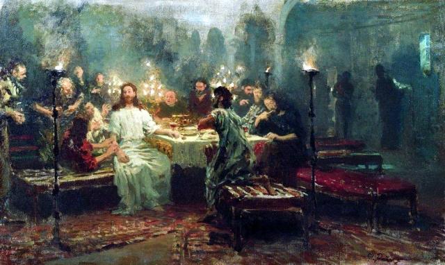 Илья Репин. Тайная вечеря. 1903