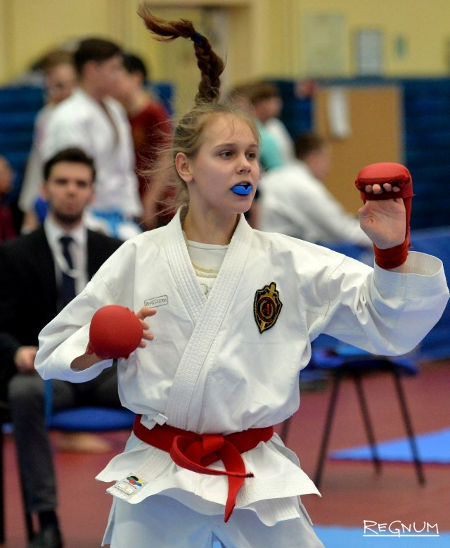 Соревнования по каратэ «Петербургская весна»