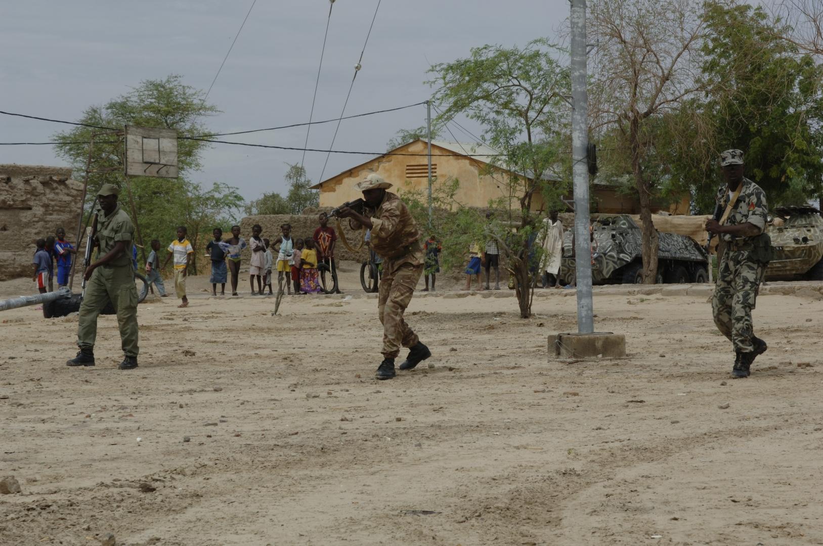 Малийские силовики