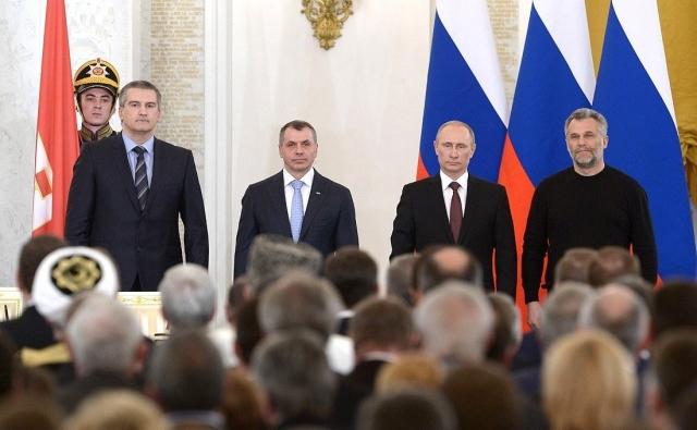 Подписание Договора о принятии в Российскую Федерацию Республики Крым. 2014