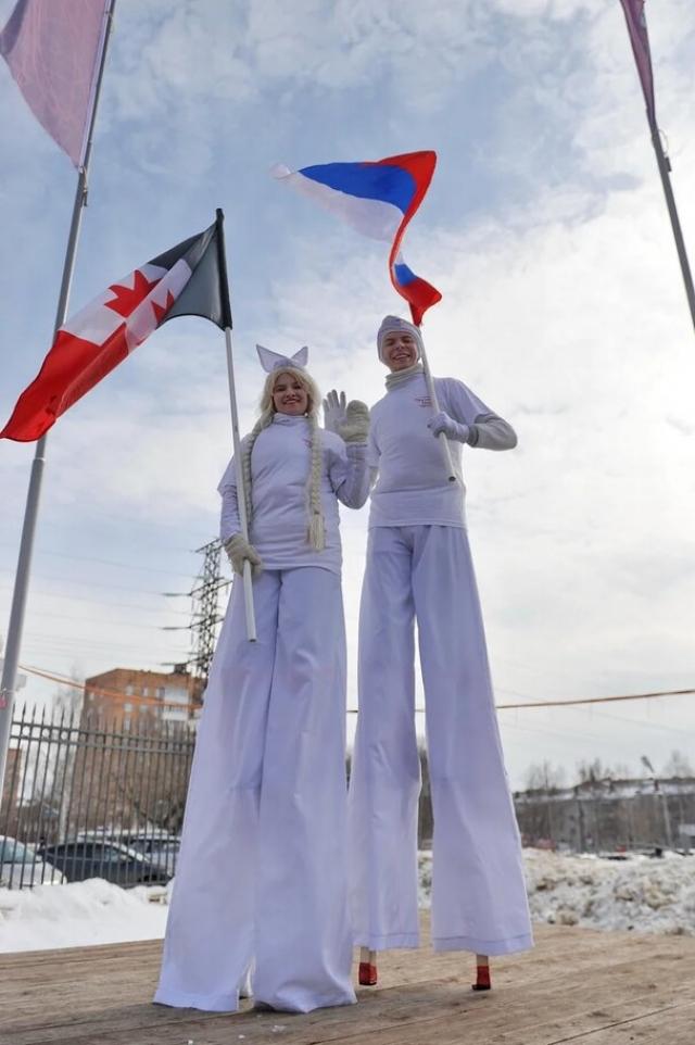 Гуляния в Ижевске