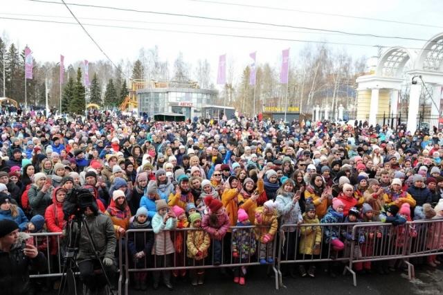 Праздник в Ижевске