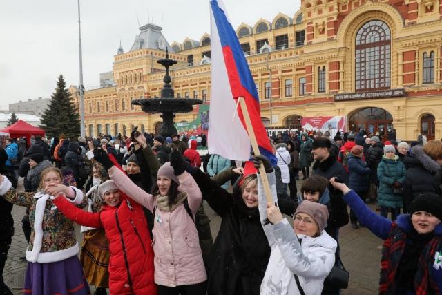 Гуляния в Нижнем Новгороде